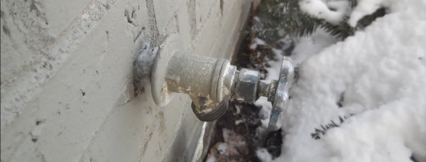 The snow has melted! If you haven't experienced freezing faucets yet, now is the time to take them to prevent any future problems.